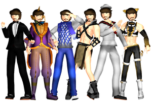 [Version 1.5] MMD Tonio Download by Pikadude31451