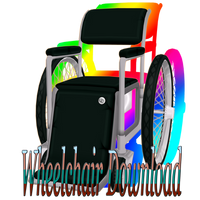 MMD Wheelchair Download by Pikadude31451