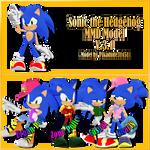 MMD Sonic the Hedgehog model download [V.3.1]