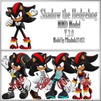 MMD Shadow Model Download [V.3.0] by Pikadude31451
