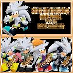 MMD Silver the Hedgehog model download [V.2.0]