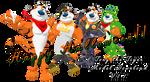 Tony the Tiger MMD model Download [V.1.1]