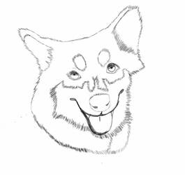 Blu Sketch by Owl-Tea