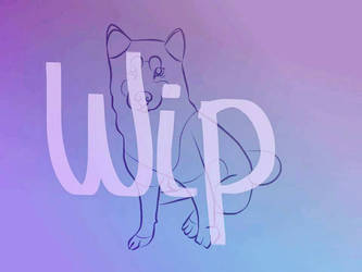 husky oc wip by Owl-Tea