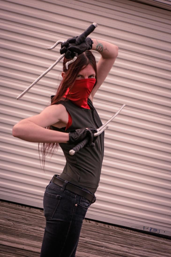 Elektra Natchios Marvel's Daredevil Cosplay by LadyAutumnIvy