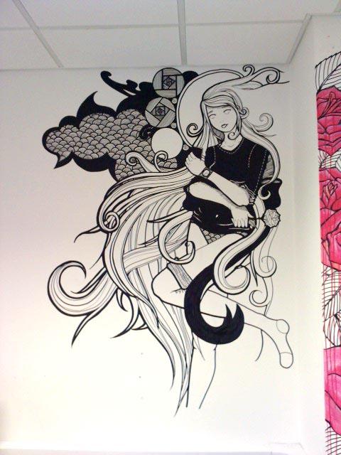 Studio Wall by pandan7