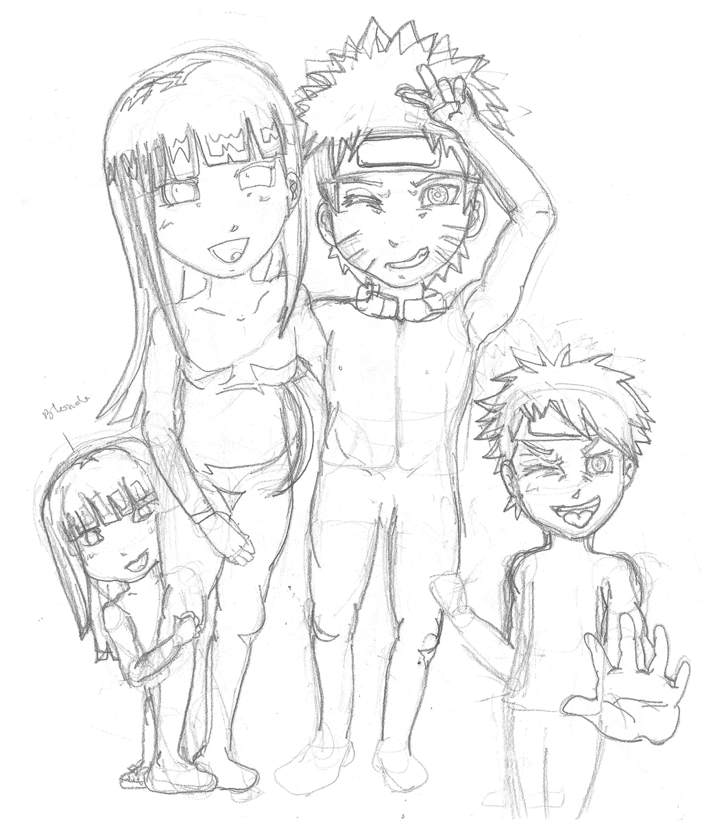 Naurhina Family PIcture Sketch By Franntastic16 On DeviantArt