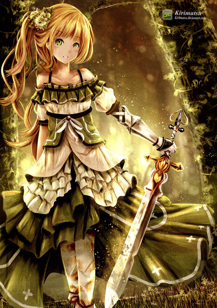Forest Girl by kirimatsu
