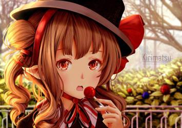 lolipop girl by kirimatsu