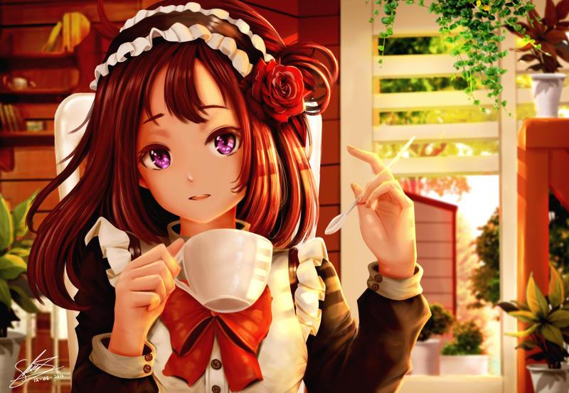 Tea Time by kirimatsu