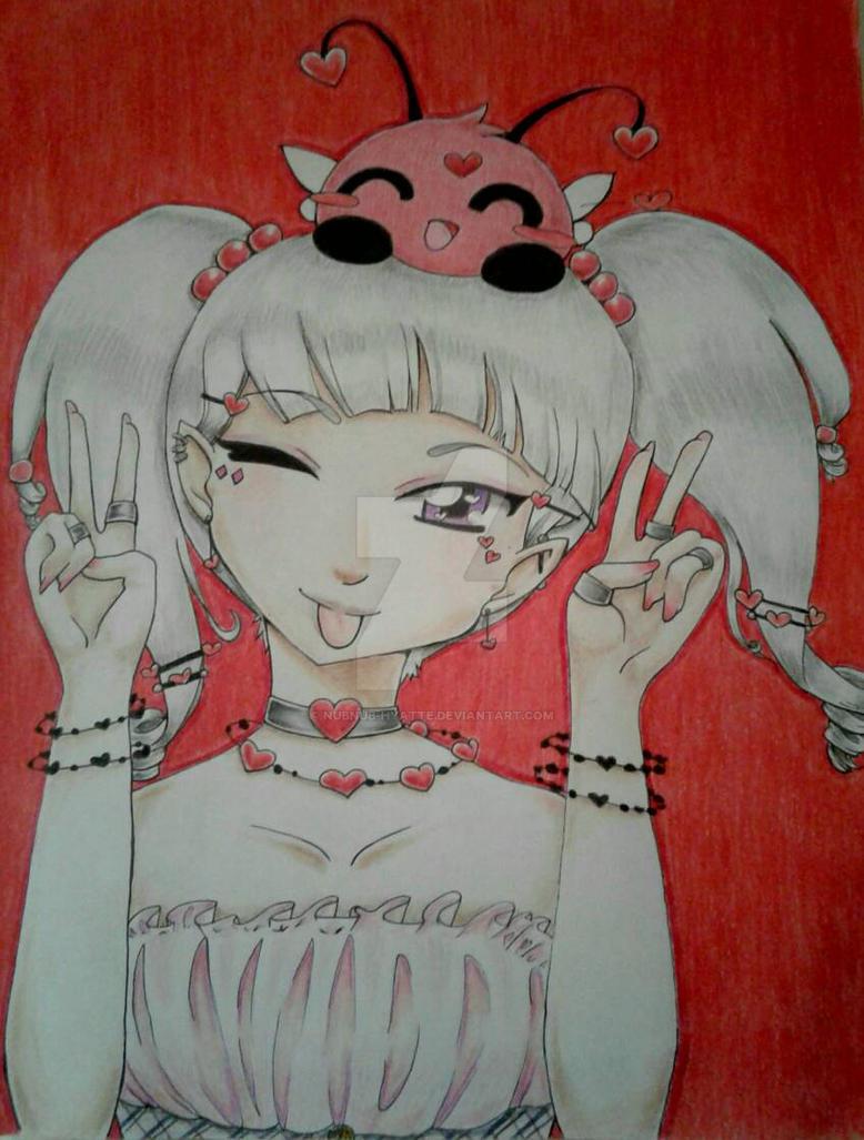 Kawaii Ai + the Love Bug by nubnub-hyatte