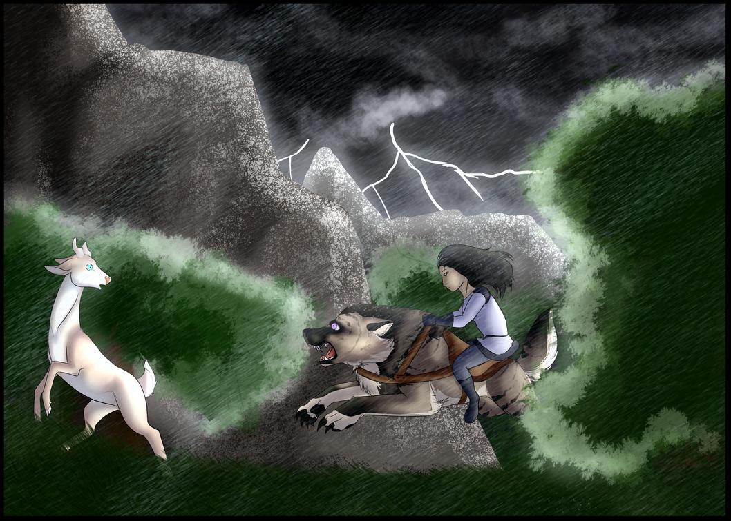 Rite of the Hunt - Ursala by Artha-Demon