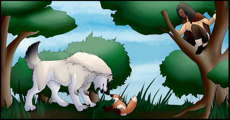 Rite of the Hunt - Snowmane by Artha-Demon