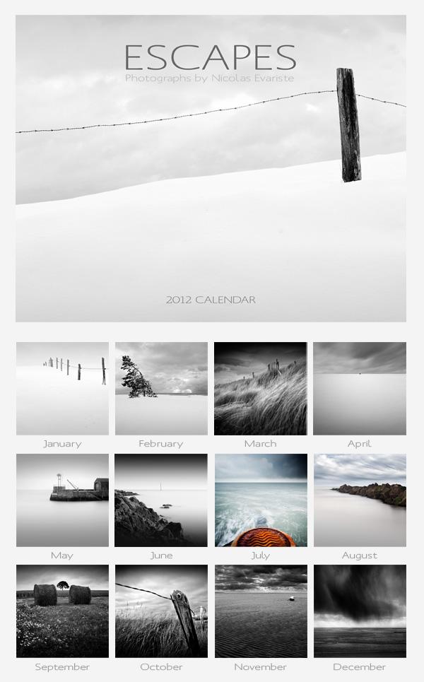 Escape - 2012 Calendar by NicolasEvariste