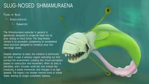 Slug-Nosed Shimamuraena by Dingbat1991
