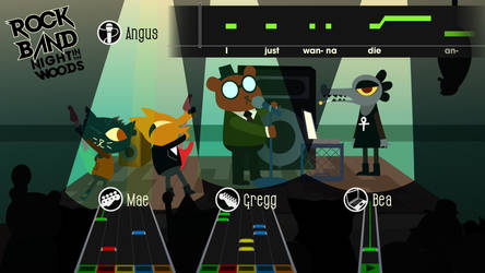 Rock Band: Night in the Woods by Dingbat1991