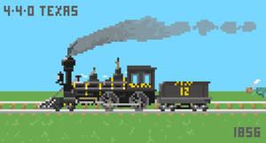 4-4-0 WA Texas by Dingbat1991