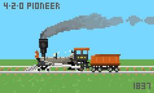 4-2-0 CNW Pioneer by Dingbat1991