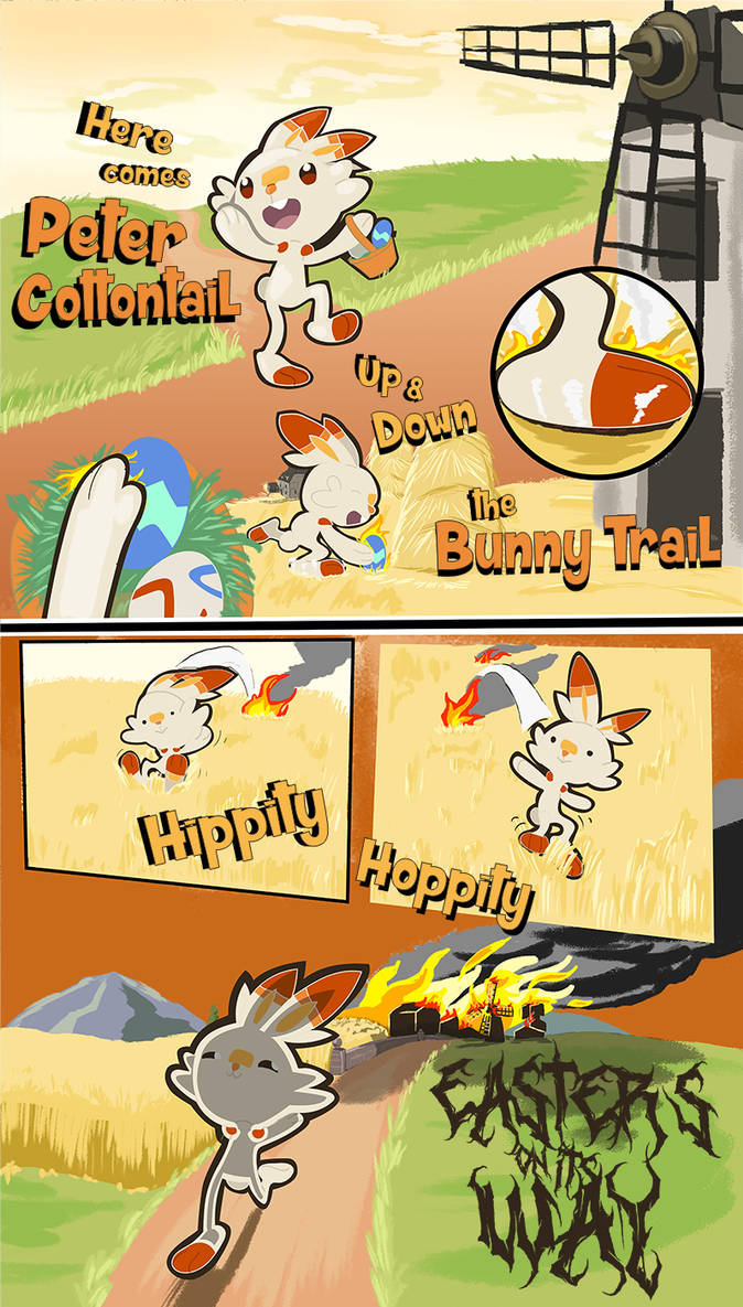 A Very Scorbunny Easter