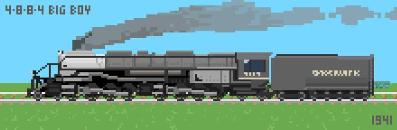 4-8-8-4 Union Pacific Big Boy