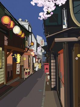 Shinjuku - Color Version