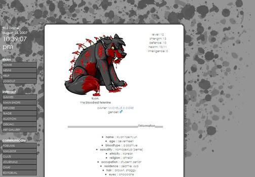 Gray Splatters - Commission