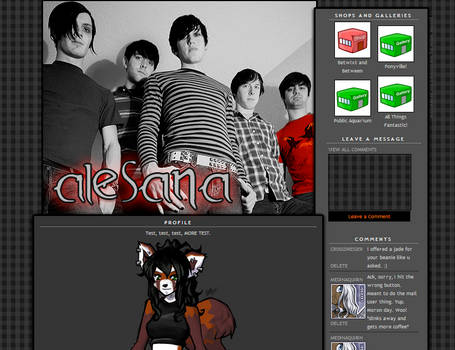 Brokenxink's Alesana Profile