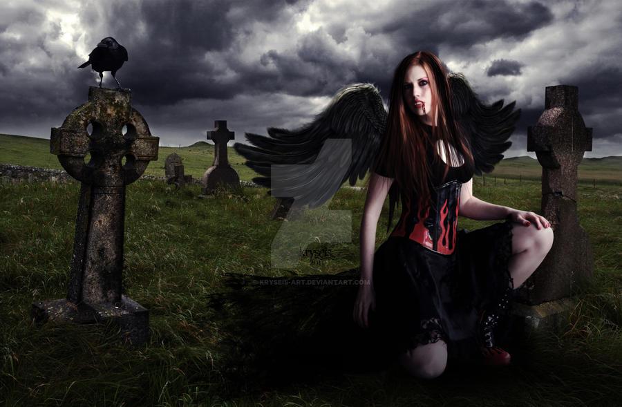 Vampire Girl by Kryseis-Art