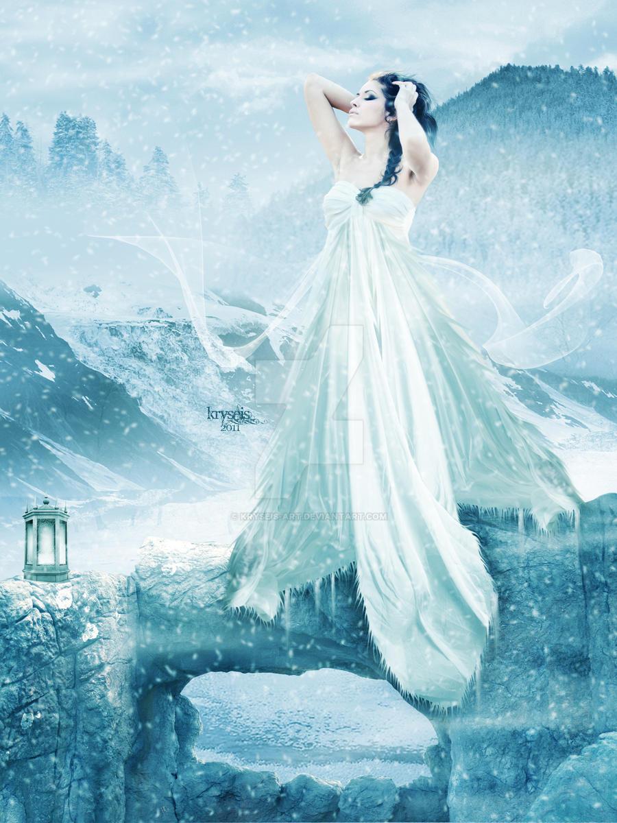 Goddess of Snow by Kryseis-Art