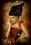 SteamPunk Queen by Kryseis-Art