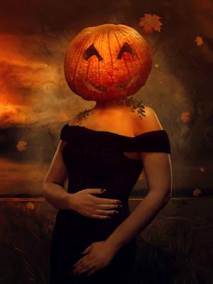 Mrs Pumpkin by Kryseis-Art