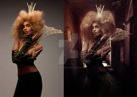 Lost Queen Before After