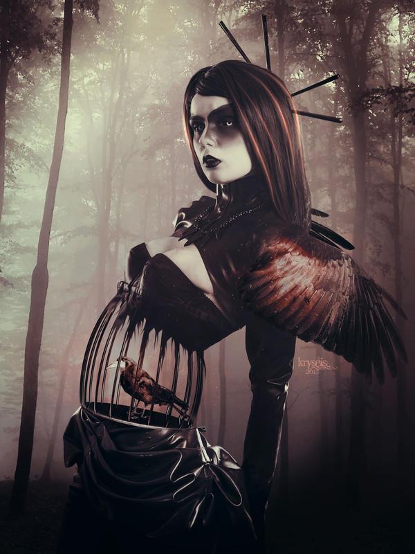 Lady Crow by Kryseis-Art