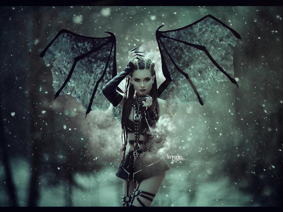 The Snow Devil by Kryseis-Art