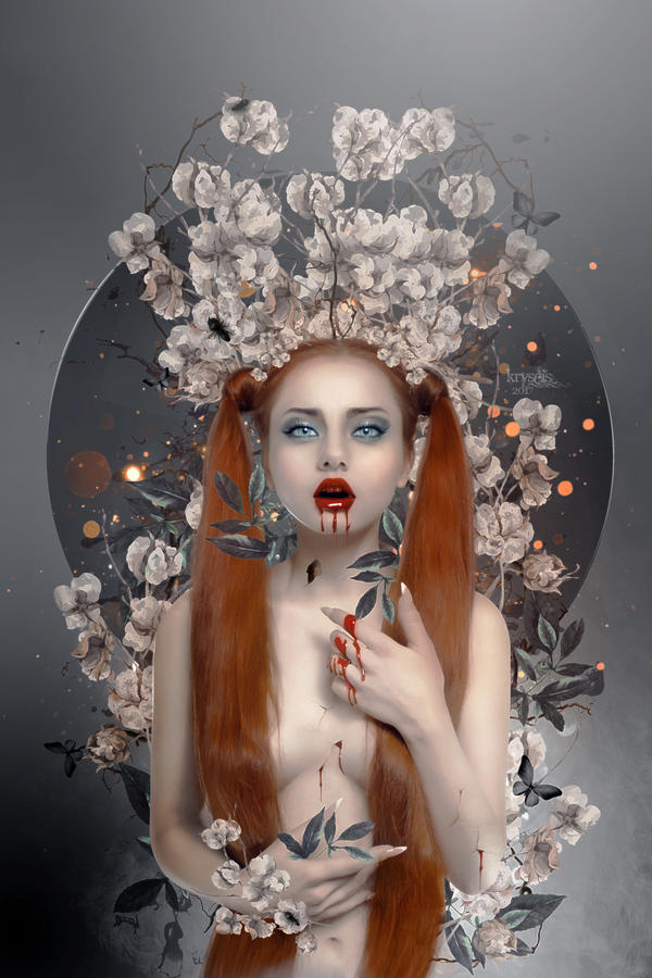 Les fleurs du mal by Kryseis-Art