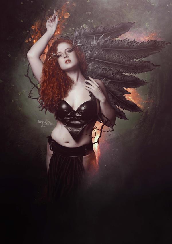 The Last Angel by Kryseis-Art