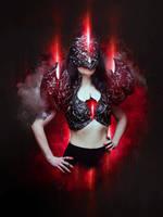 Ruby of Blackness by Kryseis-Art