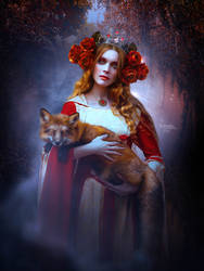 The Fox by Kryseis-Art