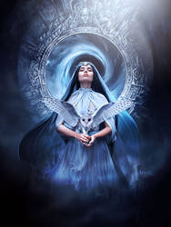 Goddess of Liberty by Kryseis-Art