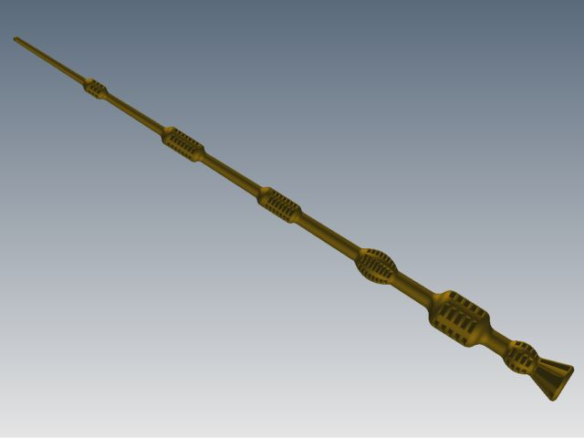 The elder wand by cajh on deviantart for Elder wand spells