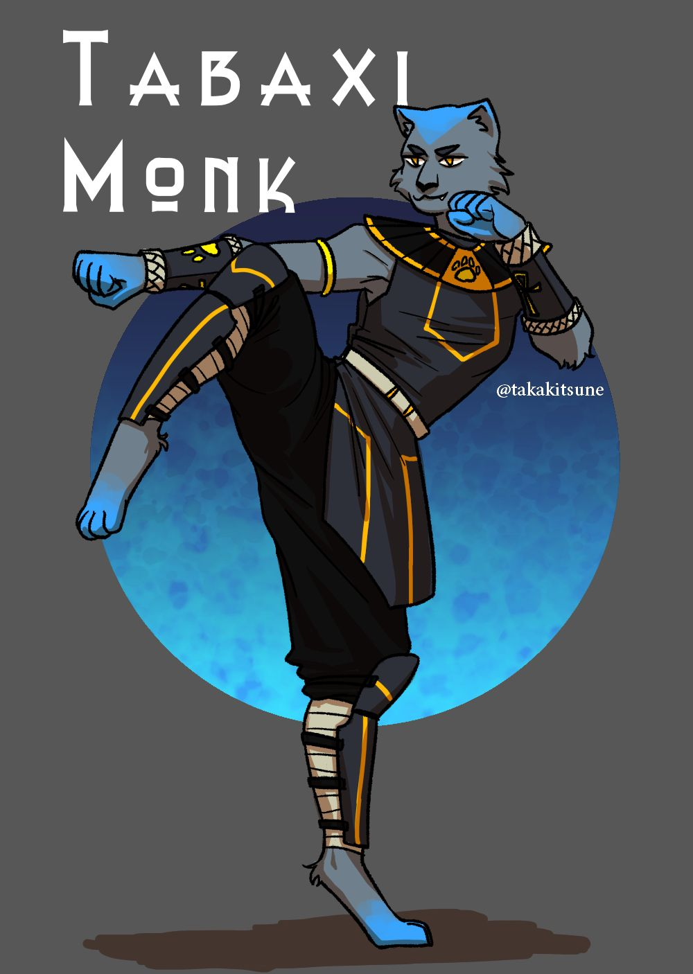 Avm Tabaxi Monk By Taka Kitsune On Deviantart Eric belisle as a player: avm tabaxi monk by taka kitsune on