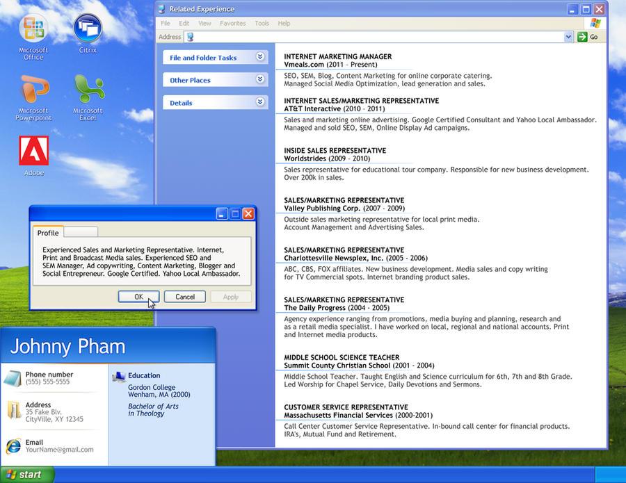 resume computer technician by orangeresume - Computer Technician Resume