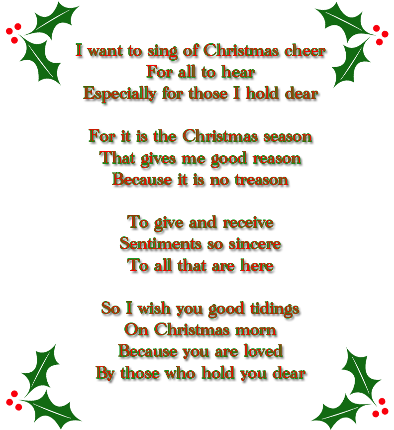 Christmas Poem by Lukan-the-Oracle