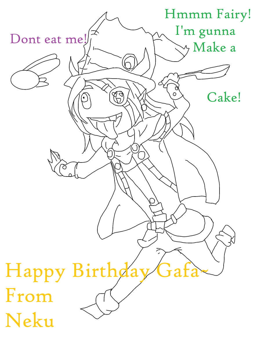 Birthday Card For Gafa by Holographic-Neku