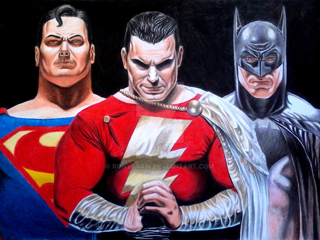Alex Ross Tribute I By Ronydraw