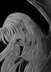 Midnight tears by zoeymewmew13
