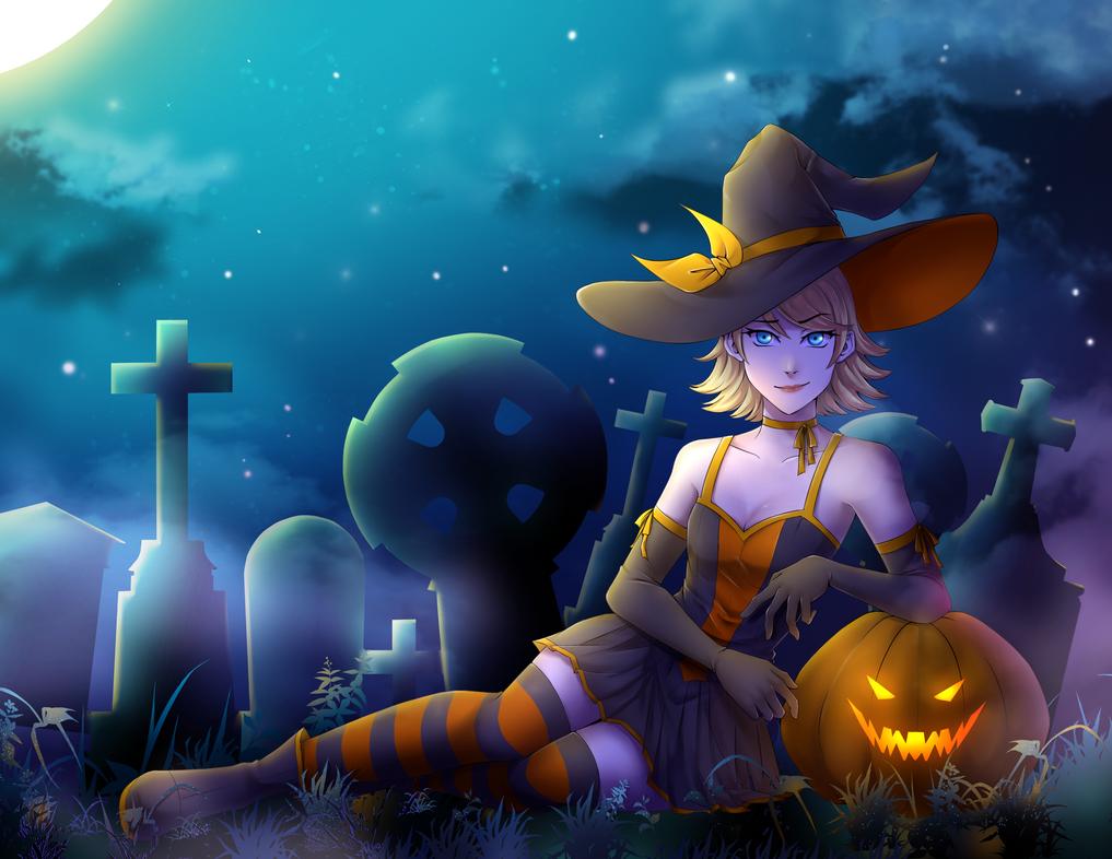 Happy Happy Halloween by zoeymewmew13
