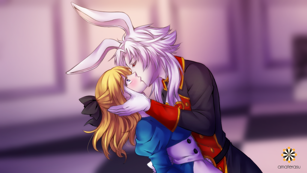 The Kiss by zoeymewmew13
