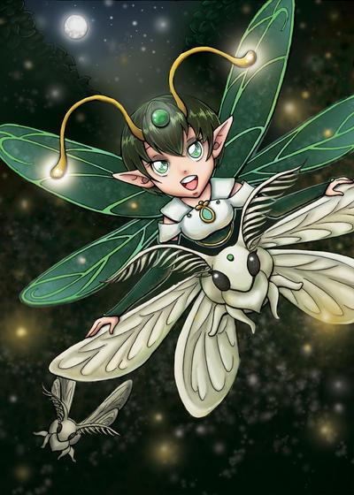 Firefly Princess by Bella-ran