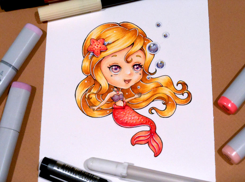 30 Day Monster Girl Challenge: Mermaid by Bella-ran